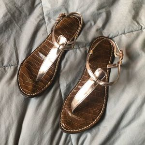 Sam Edelman Gigi sandals in rosedust
